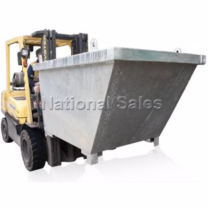 Picture of Crane Bin 1.1m3 with Fork Pockets