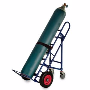 Picture of 4 Wheel Tilting Gas Cylinder Trolley