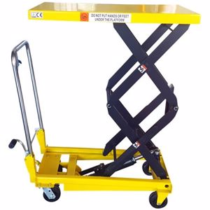 Picture of Manual Scissor Lift Table 350kg Capacity 1.3m Lift