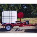 Picture of Fire Trailer 1000L with pump and hose Non Registrable