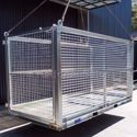 Picture of Oversized Crane Cage Goods Cage 2000 Kg WLL