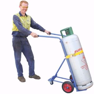 Picture of 3 Wheeled Gas Cylinder Trolley