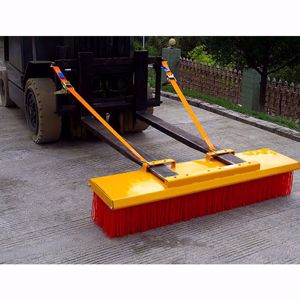 Picture of Forklift Broom 1800mm 8 x Bristle Rows Heavy Duty